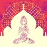 Yoga-15-4 Immagini Stock