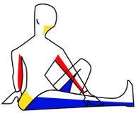 Yoga 1 Immagini Stock