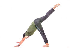 Yoga Adho Mukha Svanasana Royalty Free Stock Photo