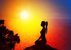 Free Yoga And Meditation Stock Photography - 56276722