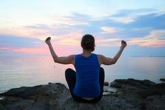 Yoga Asana Lizenzfreie Stockbilder
