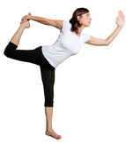 Yoga asana Stock Photography