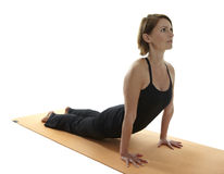 Yoga Asana Fotografia Stock Libera da Diritti
