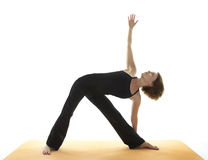 Yoga Asana Royalty Free Stock Image