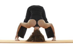 Yoga Asana Royalty Free Stock Photos
