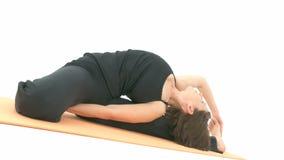 Yoga Asana video d archivio