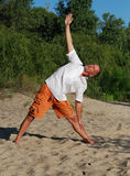 Yoga asana Stock Image