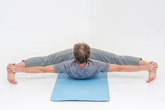 Yoga asanas Lizenzfreie Stockbilder