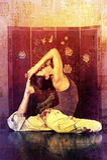 Yoga Asian royalty free stock photos