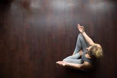 Free Yoga At Home: Meditation Idea Royalty Free Stock Photography - 78085017