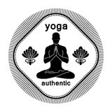 Yoga authentic Royalty Free Stock Photo