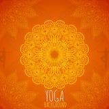 Yoga background. Stock Images