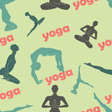 Yoga background Stock Images