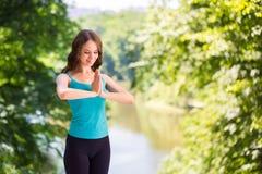 Yoga, balance, meditation. Royalty Free Stock Images