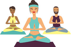 Yoga class Royalty Free Stock Photography