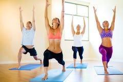 Yoga Class stock photos
