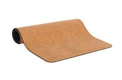 Yoga Cork Mat Premium und Eco freundlich Lizenzfreies Stockbild