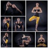 Yoga couple Royalty Free Stock Photography