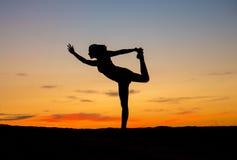 Yoga dancer Stock Photos