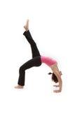 Yoga de Ashtanga en estudio Imagen de archivo libre de regalías