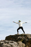 Yoga de détente Photo libre de droits
