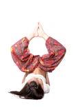 yoga de fille Image libre de droits