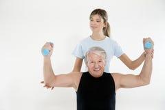 yoga de forme physique Photo libre de droits