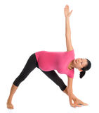Yoga de grossesse photographie stock