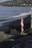 Yoga de la mañana Fotografía de archivo