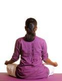 Yoga de la mujer Foto de archivo
