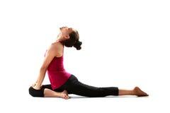 yoga de pose Photographie stock