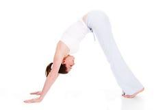 yoga de temps Photographie stock