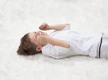 Yoga der Kinder. Lizenzfreie Stockfotos