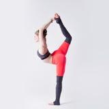 Yoga in der Natur Lizenzfreie Stockbilder