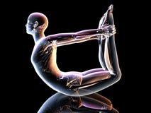 Yoga - Dhanurasana Stock Image