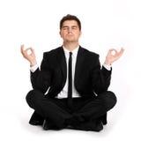 Yoga di affari Immagine Stock Libera da Diritti