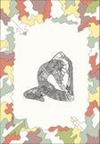 Yoga di Asana Fotografia Stock Libera da Diritti