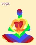 Yoga di Asana Immagine Stock