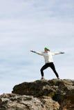 Yoga di distensione Fotografia Stock Libera da Diritti