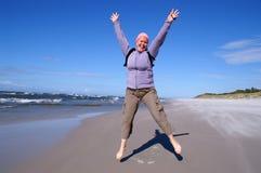 Yoga di esercizio della donna Fotografia Stock Libera da Diritti