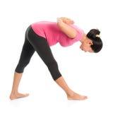 Yoga di maternità Fotografia Stock Libera da Diritti