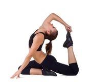 Yoga di pratica Fotografia Stock