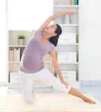 Yoga di rilassamento Immagine Stock Libera da Diritti