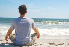 Yoga e meditazione Fotografie Stock Libere da Diritti