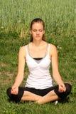 Yoga e rilassamento Fotografia Stock