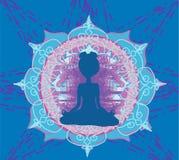 Yoga e spiritualità Fotografie Stock Libere da Diritti
