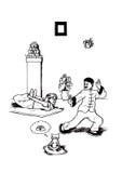 Yoga e Tai Chi (2008) Immagini Stock Libere da Diritti