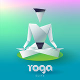 Yoga Elite Logo Stock Photography