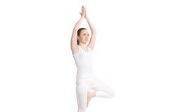 Yoga en estudio Foto de archivo libre de regalías