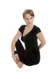 Yoga en geschiktheid. Royalty-vrije Stock Fotografie